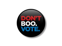 Don't boo. Vote.