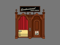 Confessional Photo Booth