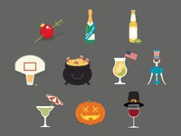 Boozy Illustrations