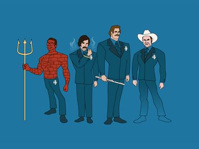 The Fantastic 4 News Team