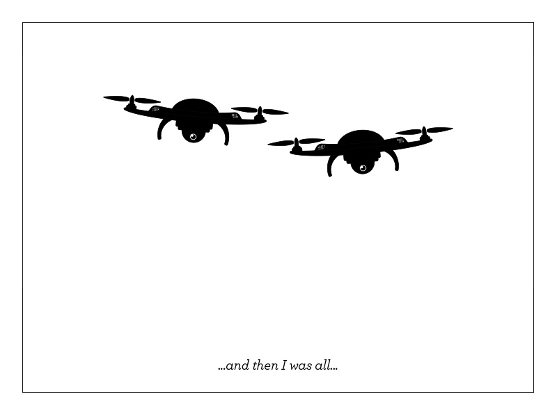 Droning on illustration vector drones drone