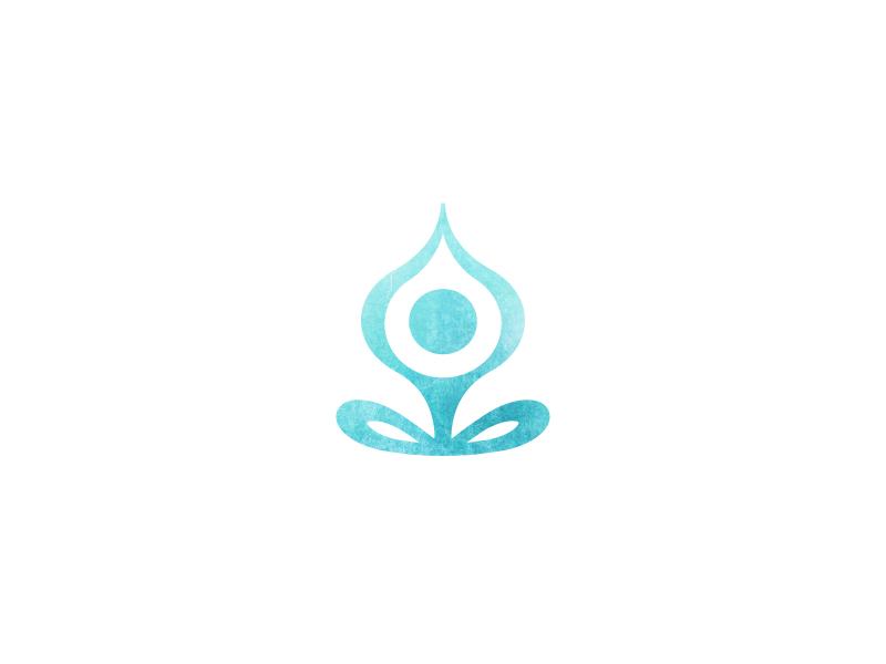 Yoga Logo identity logo meditation yoga