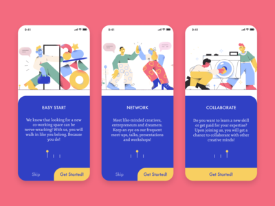 daily ui 23 onboarding
