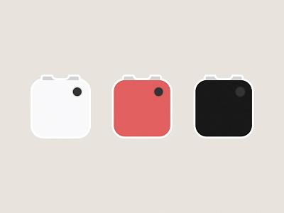 Narrative Clip 2 Stickers narrative clip 2 camera logo icon flat illustration sticker