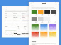 Outdoorsy Style Guide / Design System