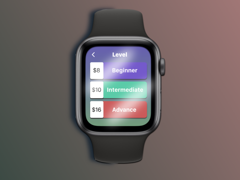 DailyUI #030-Pricing applewatch pricing apple iwatch watch dailyui030 dailyui typography adobexd design ui practice