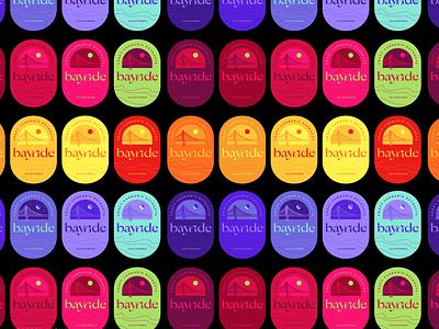 @PrettyLethalDesigns @doodling_rose_ neon bright moon cannabis bridge sky colors bayarea cannabis design cannabis logo color vector design art branding
