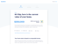 Web Offer Page Exploration