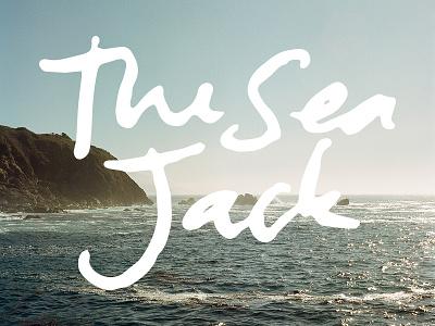 The Sea Jack hand done handwriting big sur hasselblad