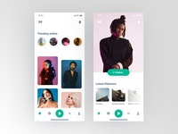 Music Discovery App Concept