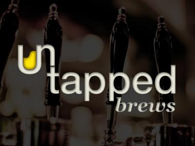 Untapped Brews Logo beer logo beermug craftbeer