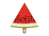 Watermelon Icon Design