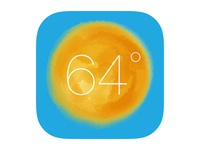 Reimagined Weather Icon iOS7