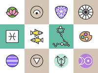 Horoscope Icons Pisces