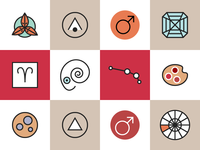 Horoscope Icons Aries