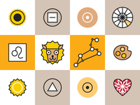 Horoscope Icons Leo