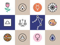 Horoscope Icons Libra
