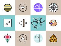 Horoscope Icons Sagittarius