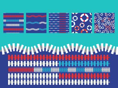 Pool Patterns Brushes