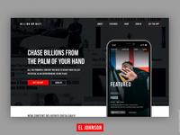Billion Or Bust App Landing Page