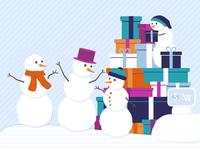 Snowman Online Shopping