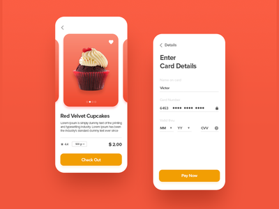 Credit Card Checkout. Daily ui 02