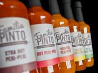 Familia Pinto Peri-Peri Labels