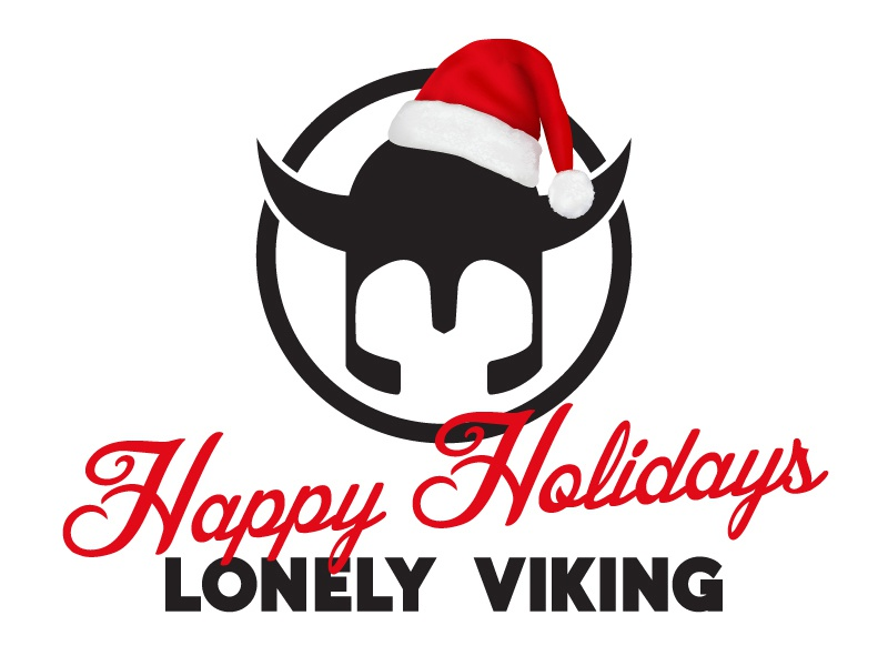 Happy Holidays From Lonely Viking shane rielly lonely viking merry christmas happy holidays santa hat