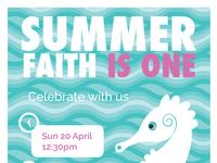 Summer's Birthday Invitation