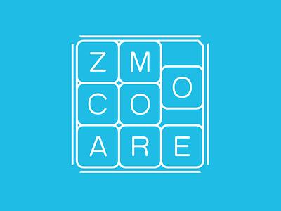 Zoom+ puzzle design illustration vector branding