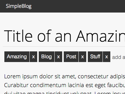 SimpleBlog