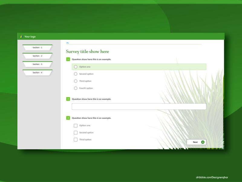 Survey interface 2