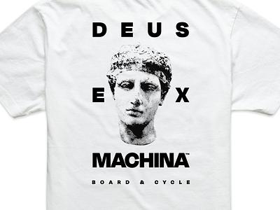 Deus bust streetwear t shirt design shirt design graphic design degular sans serif minimal filter halftone texture stipple