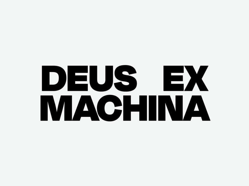 Deus entry #3 front logotype