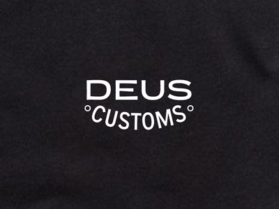 Deus sun tire front tshirt shirt branding print logo typography