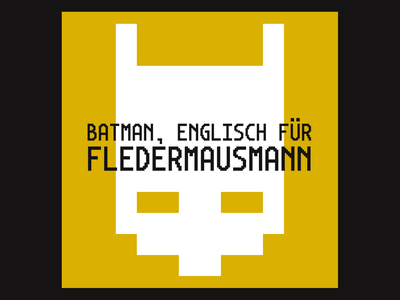 Gothamono Deutsch pixel font pixel type pixel typography