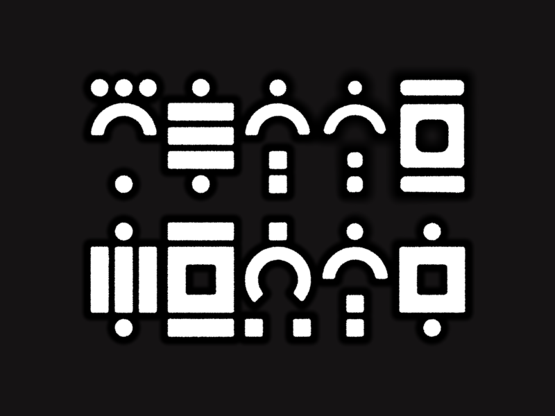 Krakoan test 1 texture print alphabet comic books comics xmen krakoa symbols experiment typography