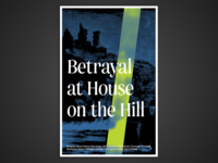 Board Game Poster Series – #4 Betrayal at House on the Hill