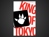 Board Game Poster Series – #6 King of Tokyo