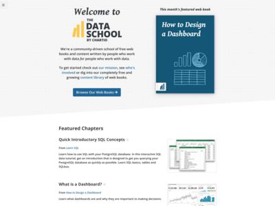 Data School website redesign/rebuild