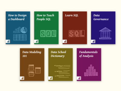 Data School book covers