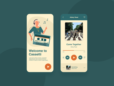DailyUI 009 | Music Player ux ui app