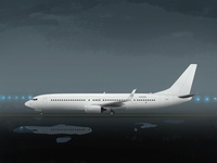 Boeing 737-900 aircraft