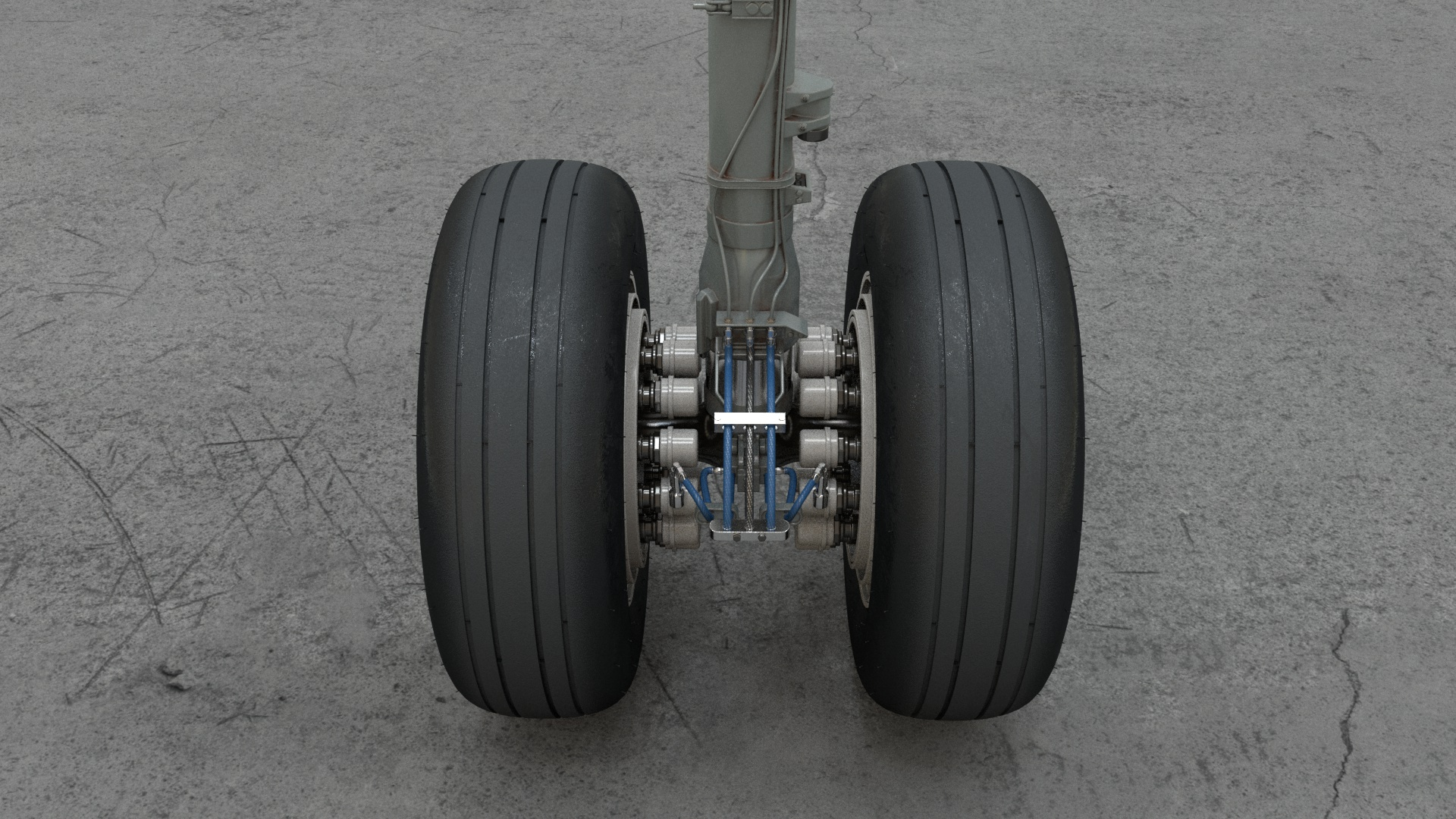 A320 main gear 04b