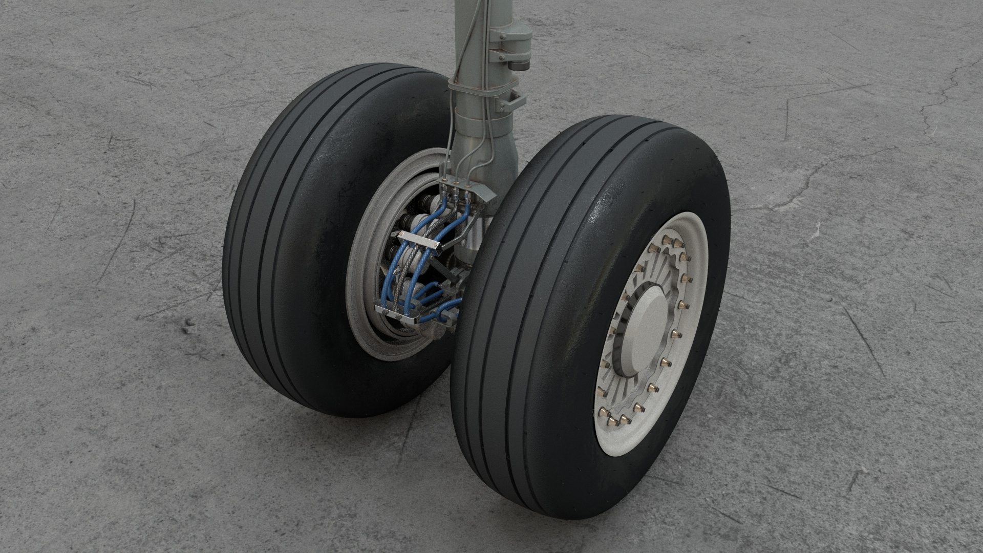 A320 main gear 04c