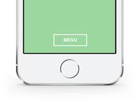 iOS Menu Concept on Codepen