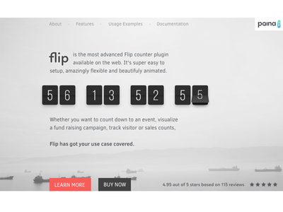 Flip Productpage Redesign redesign flip countdown