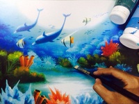 """The deep blue sea"""