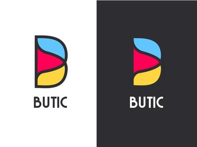 Butic Shopping App Logo Design