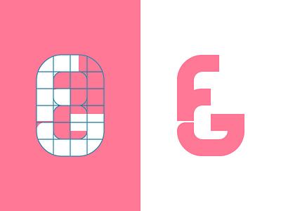 FG Monogram personal logo icon logo monogram